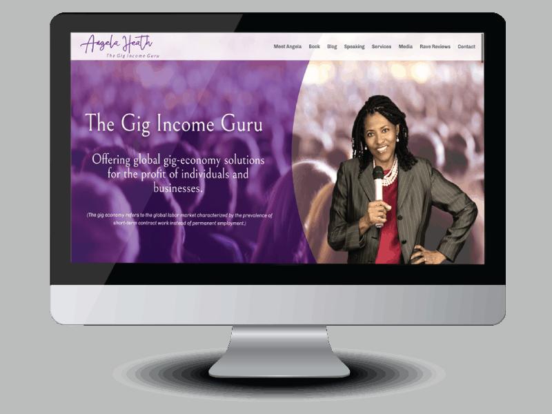 Angela Health speaker and writer website