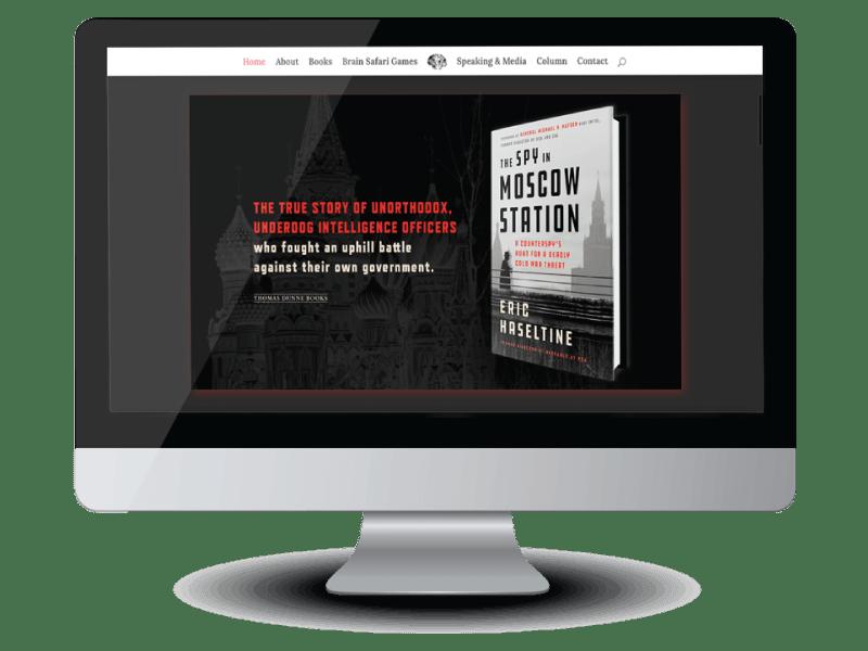 Eric Haseltine author website