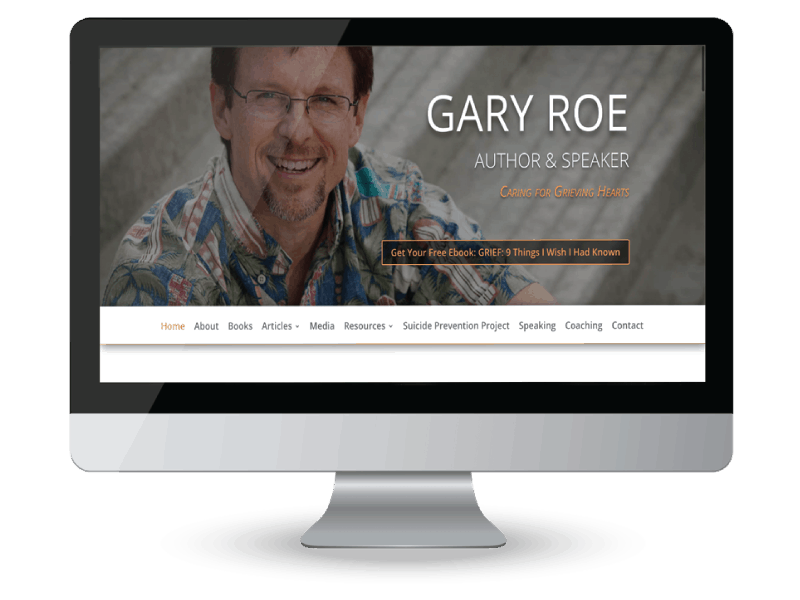 Gary Roe author and speaker website