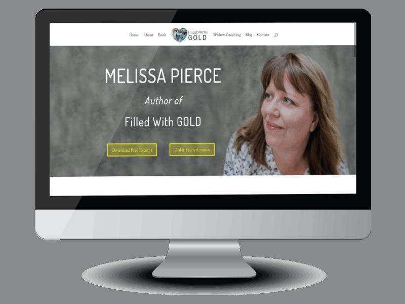 Melissa Pierce memoir and coaching website