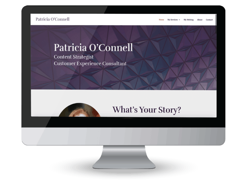 Patricia O'Connell author speaker consultant website