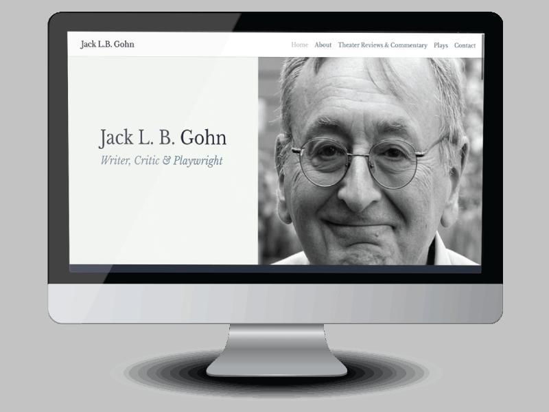 Jack Gohn author website