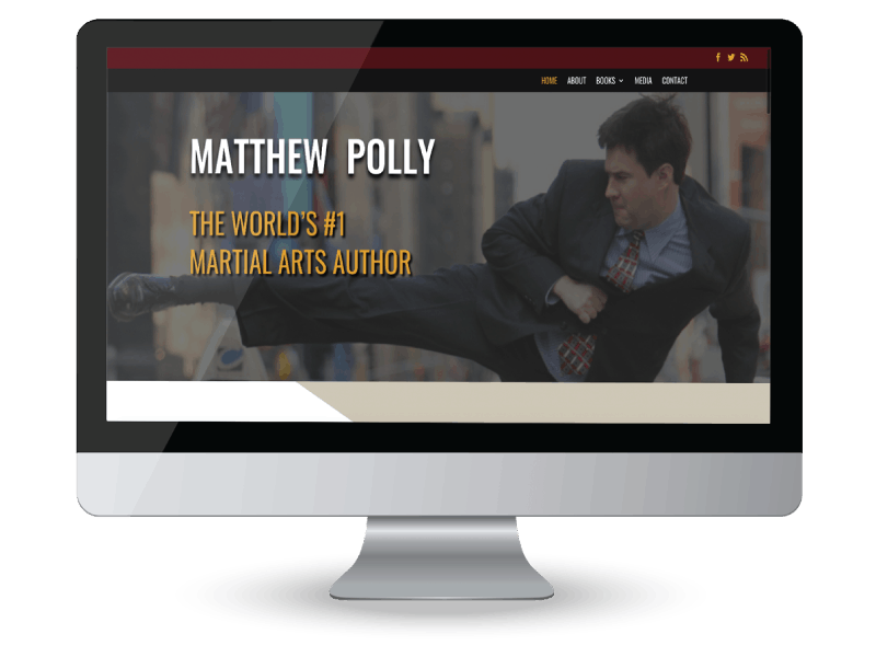 Matthew Polly author website